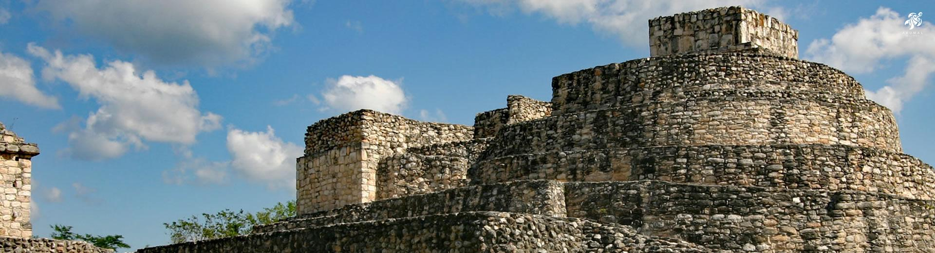 The Mayan had fantastic buildings all built with local stones