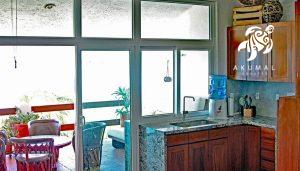 Azul Cielo, La Sirena #12, Fabulous views even from the kitchen sink
