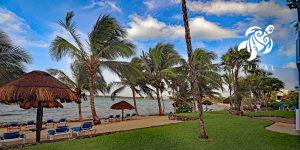 La Sirena's beach is private, expansive and always uncrowded