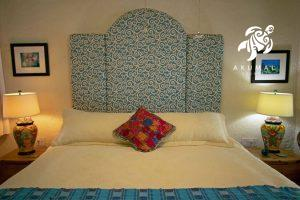 Seascape, La Sirena 1: The master king sized bed total sleep luxury on an extra plush temperpedic super cooling mattress