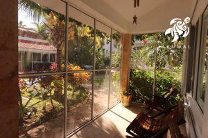Villa Lijeson, La Sirena 15: The Villa also has Expansive Views of La Sirena's Gardens