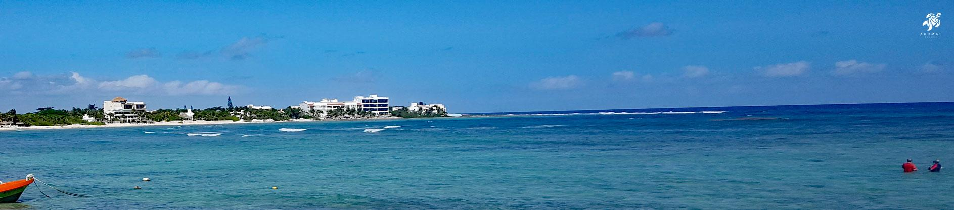 La Sirena from across Half Moon Bay