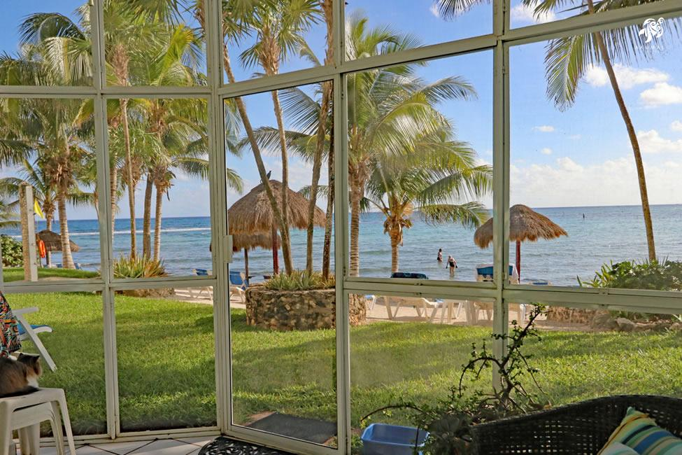 Seascape, La Sirena 1: A Fabulous Beach View from Seascapes Screened Beach Porch Patio