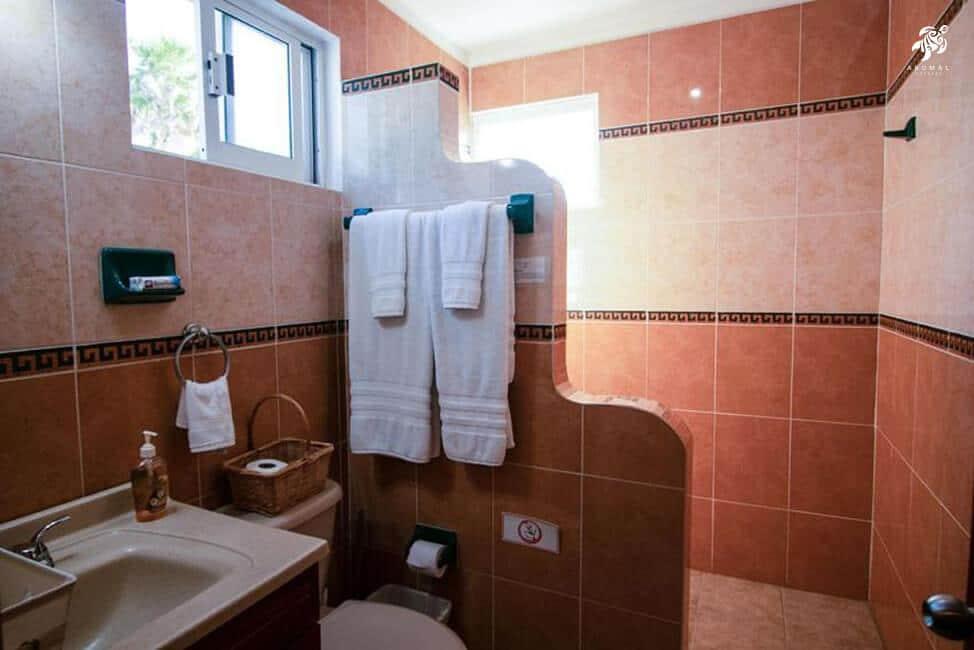 Villa Jardin, La Sirena #16, the en-suite master bathroom is fully tiled and has a large shower